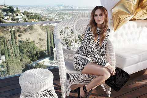 Leighton Meester for Nelly.com